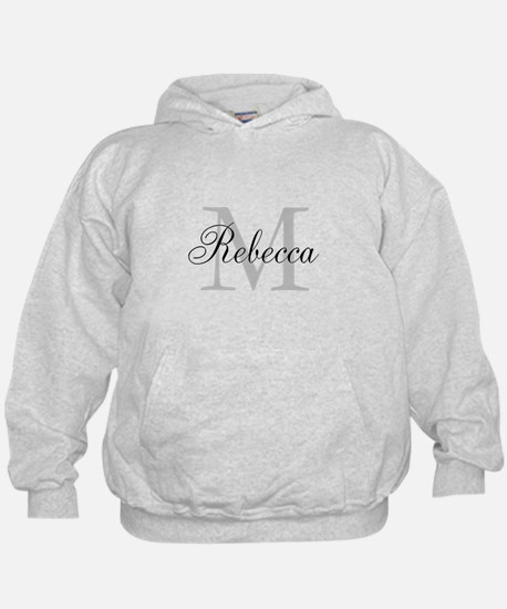 Monogram Initial And Name Personalize It! Hoodie