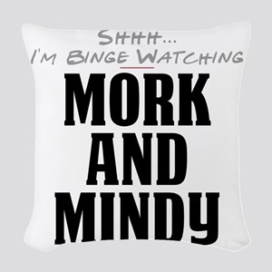 Shhh... I'm Binge Watching Mork and Mindy Woven Th