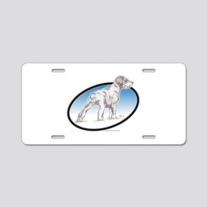 Dobbs Aluminum License Plate