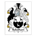 Robotham Family Crest Small Poster
