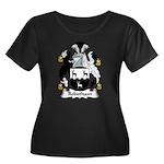 Robotham Family Crest Women's Plus Size Scoop Neck