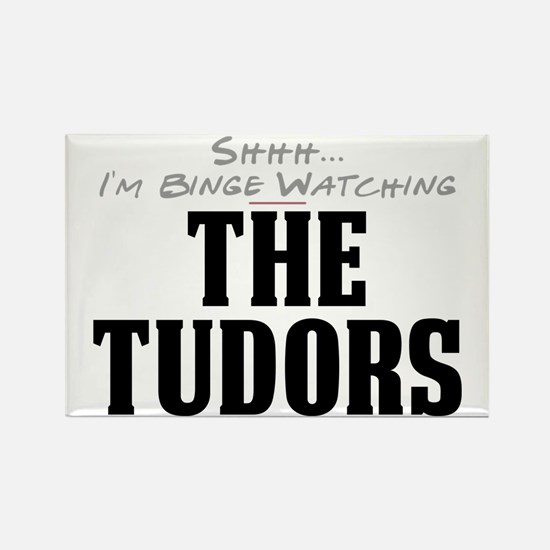 Shhh... I'm Binge Watching The Tudors Rectangle Ma