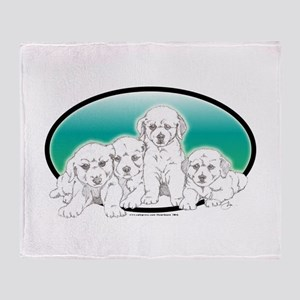 Blonde Labs Throw Blanket