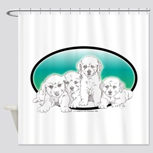 Blonde Labs Shower Curtain