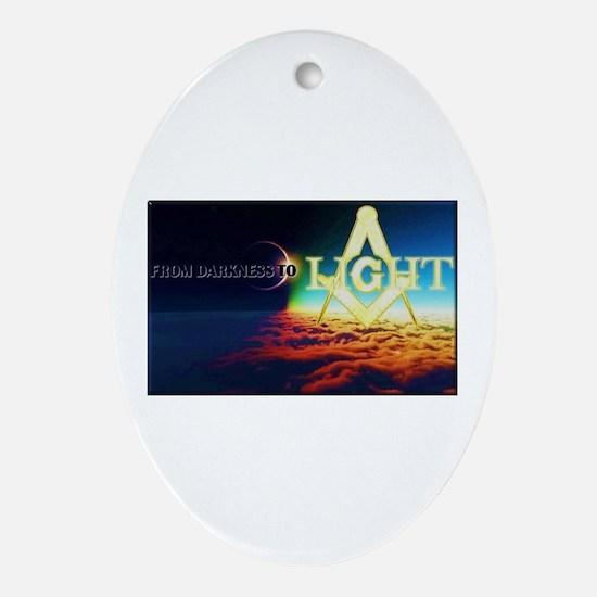 Masonic Light Ornament (Oval)