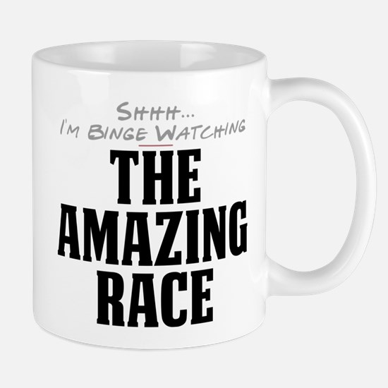Shhh... I'm Binge Watching The Amazing Race Mug