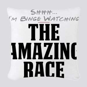 Shhh... I'm Binge Watching The Amazing Race Woven