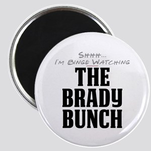 Shhh... I'm Binge Watching The Brady Bunch Magnet