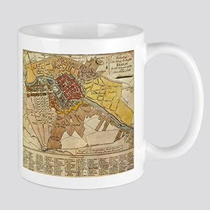 I Love Berlin Mugs CafePress - Vintage map berlin