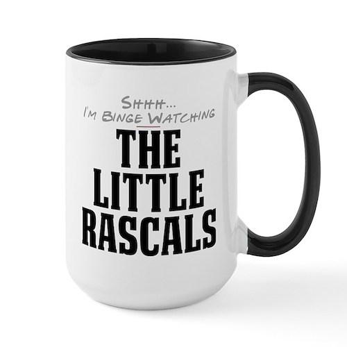 Shhh... I'm Binge Watching The Little Rascals Larg