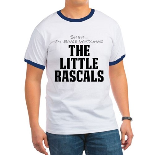 Shhh... I'm Binge Watching The Little Rascals Ring