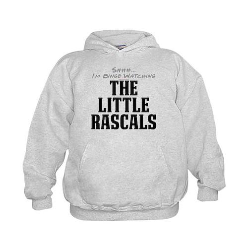Shhh... I'm Binge Watching The Little Rascals Kid'