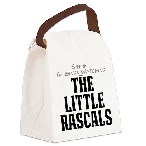 Shhh... I'm Binge Watching The Little Rascals Canv