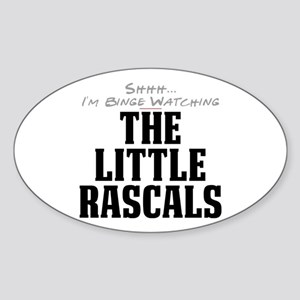 Shhh... I'm Binge Watching The Little Rascals Oval