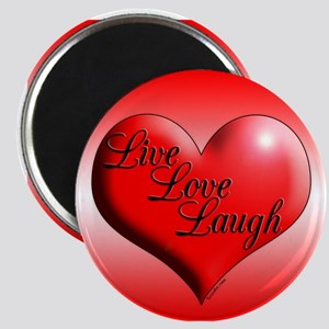 Live Love Laugh by Xennifer Magnets