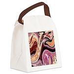 Lilacs Home Decor Canvas Lunch Bag