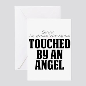 Shhh... I'm Binge Watching Touched by an Angel Gre