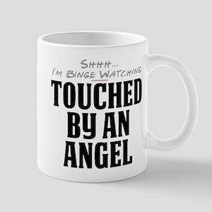 Shhh... I'm Binge Watching Touched by an Angel Mug