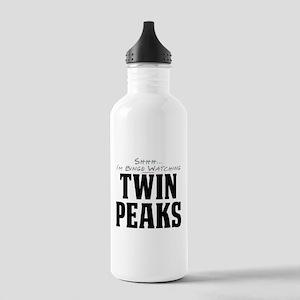 Shhh... I'm Binge Watching Twin Peaks Stainless Wa