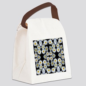 90s vintage floral Canvas Lunch Bag