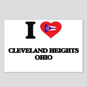 I love Cleveland Heights Postcards (Package of 8)