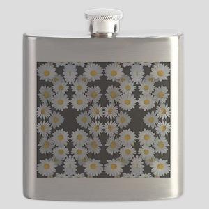 90s vintage floral Flask