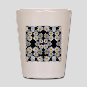 90s vintage floral Shot Glass