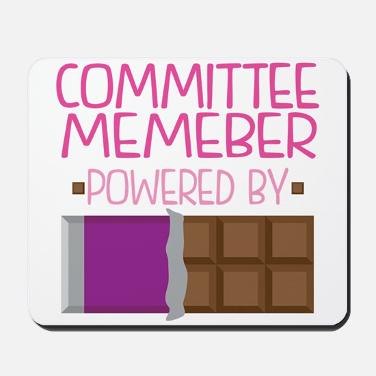 Committee Member Mousepad