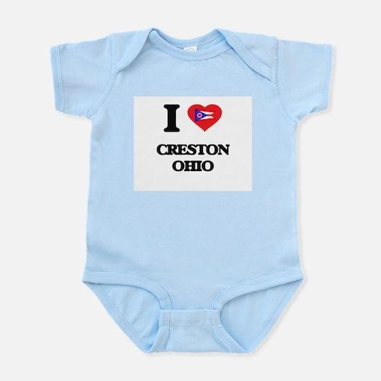 I love Creston Ohio Body Suit