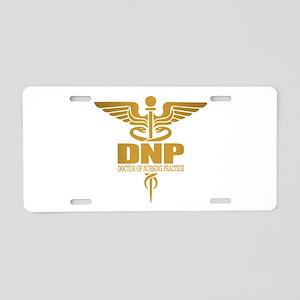 DNP gold Aluminum License Plate