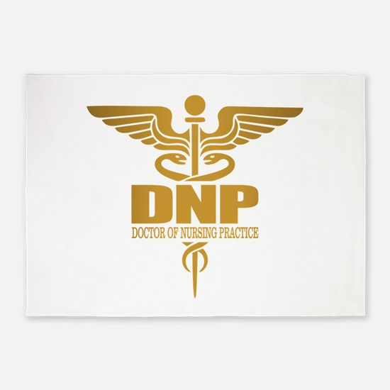 DNP gold 5'x7'Area Rug