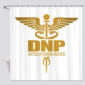 DNP gold Shower Curtain