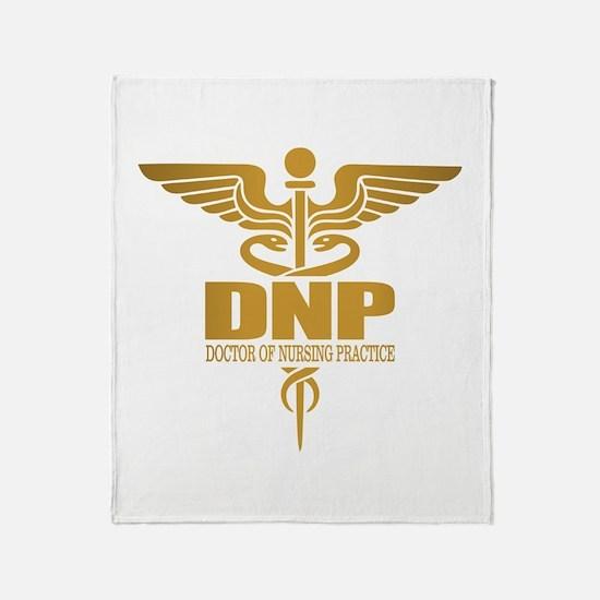 DNP gold Throw Blanket
