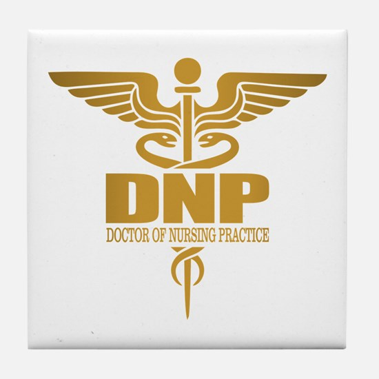 DNP gold Tile Coaster