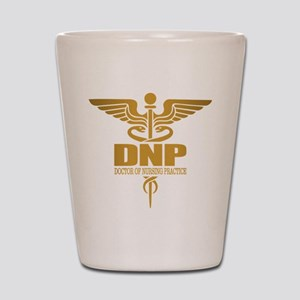 DNP gold Shot Glass