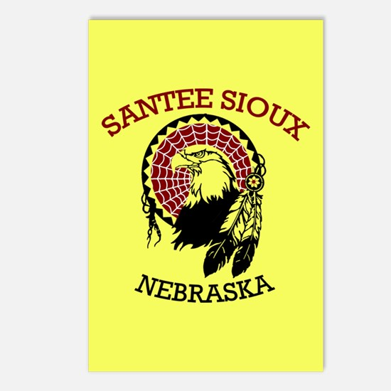 Santee Sioux Postcards (package Of 8)