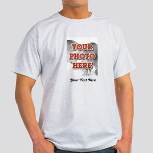 CUSTOM 8x10 Photo and Text T-Shirt