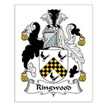 Ringwood Family Crest Small Poster