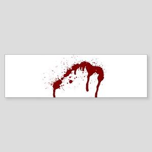 blood splatter 6 Bumper Sticker