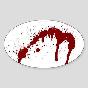 blood splatter 6 Sticker