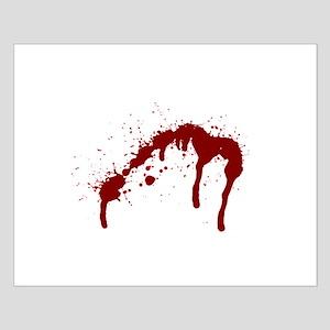 blood splatter 6 Posters