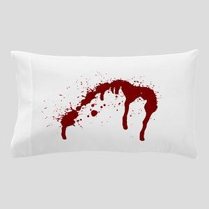 blood splatter 6 Pillow Case