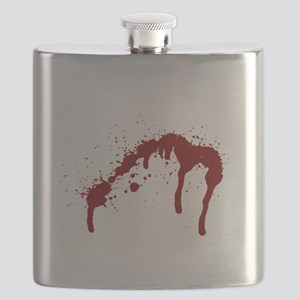 blood splatter 6 Flask