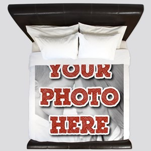 CUSTOM Your Photo Here King Duvet