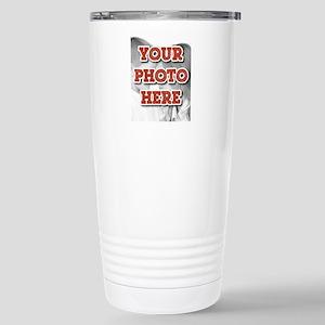 CUSTOM Your Photo Here Travel Mug