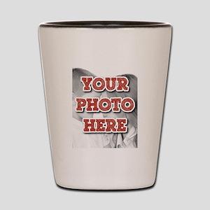 CUSTOM Your Photo Here Shot Glass