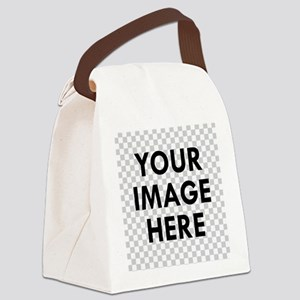 CUSTOM Your Image Canvas Lunch Bag
