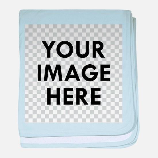 CUSTOM Your Image baby blanket