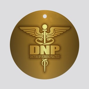 DNP gold Ornament (Round)