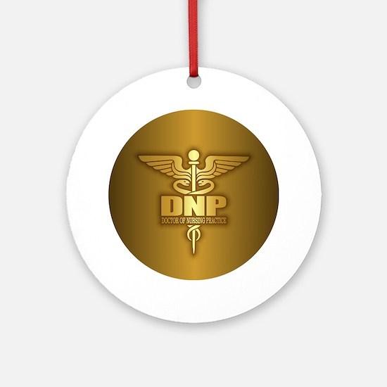 DNP gold Ornament (Round)